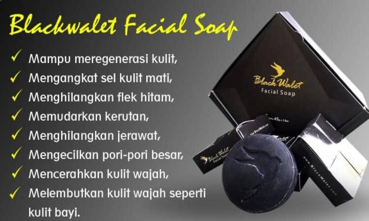 Manfaat Sabun Black Walet