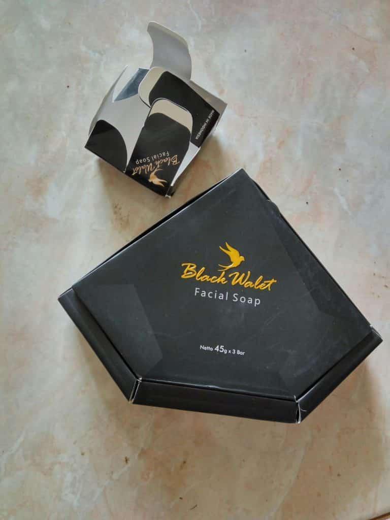 Sabun Black Walet Asli